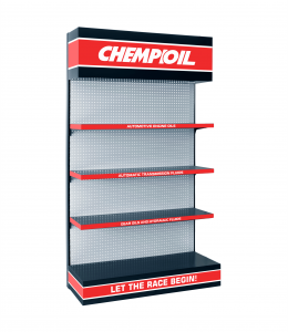CHEMPIOIL Display Shelf